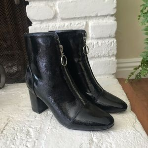 Shoes - Patent leather boots